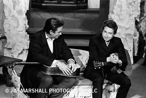 Bob Dylan, Johnny Cash,