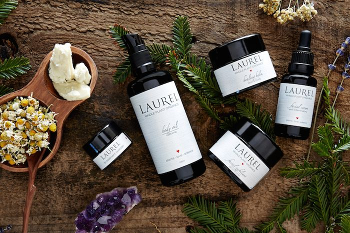 Beauty companies are now creating luxe natural beauty products alongside the wineries of Napa.