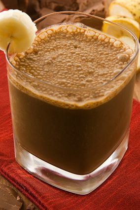 Chocolate, Banana and Peanut Butter Smoothie