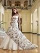 making bridal dress