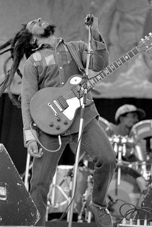 Bob Marley in 1980.