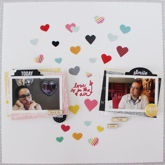 Love is in the air - Scrapbook.com