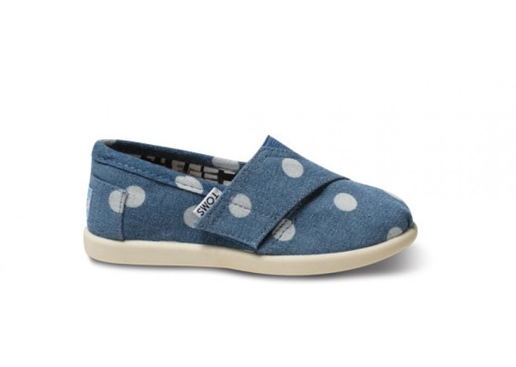 Just bought the little one a pair of these super cute Marley Tiny TOMS Classics!