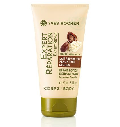 Yves Rocher-Repair Lotion Extra Dry Skin with Shea Butter.