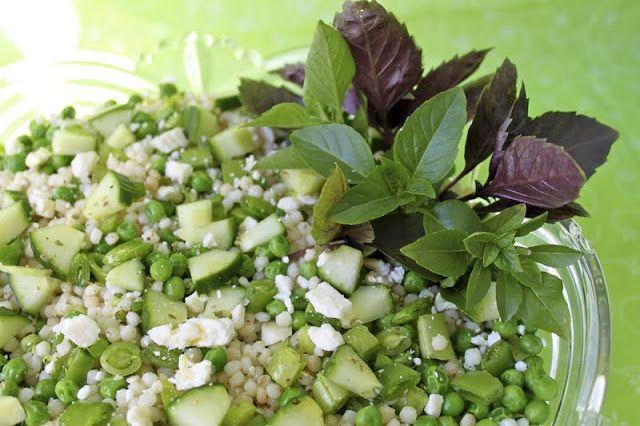 Herbed Israeli Couscous Salad   The Café Sucre Farine