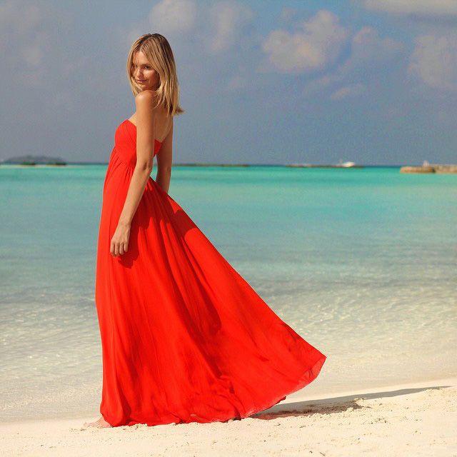 Gli abiti lunghi da indossare d'estate