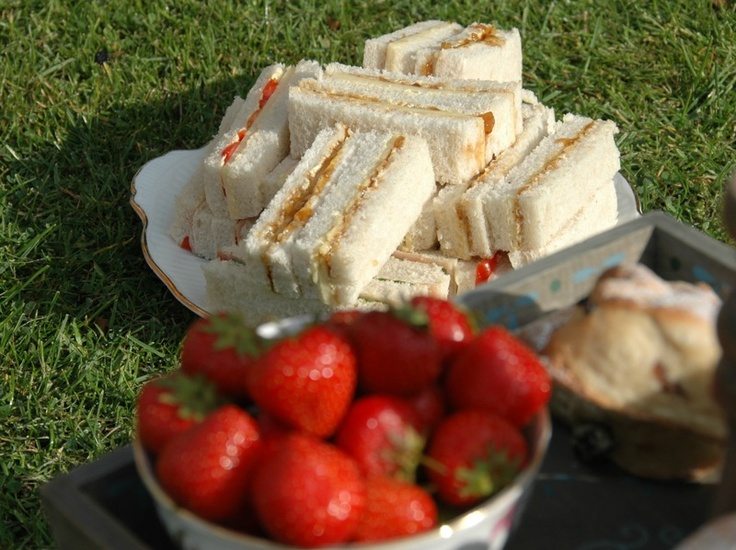Afternoon Tea Picnics available from £20 per person.