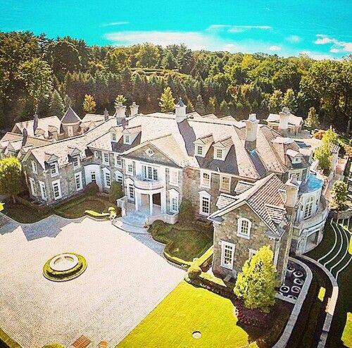 Luxury Home Builders Nj: 82 Best Stone Mansion Images On Pinterest