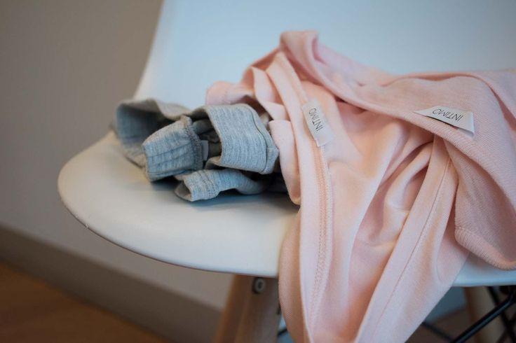 Intimo SS17 Ready to Wear // Grey Marl and Petal Pink Merino Wool    www.intimo.com.au