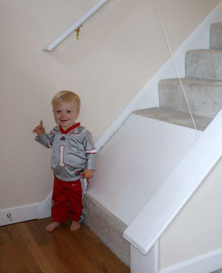 Stair Blocker Baby Kids Rugs Stairs Baby