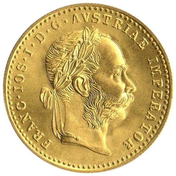 1 Dukat Österreich Goldmünzen Österreich, Gold, Zu