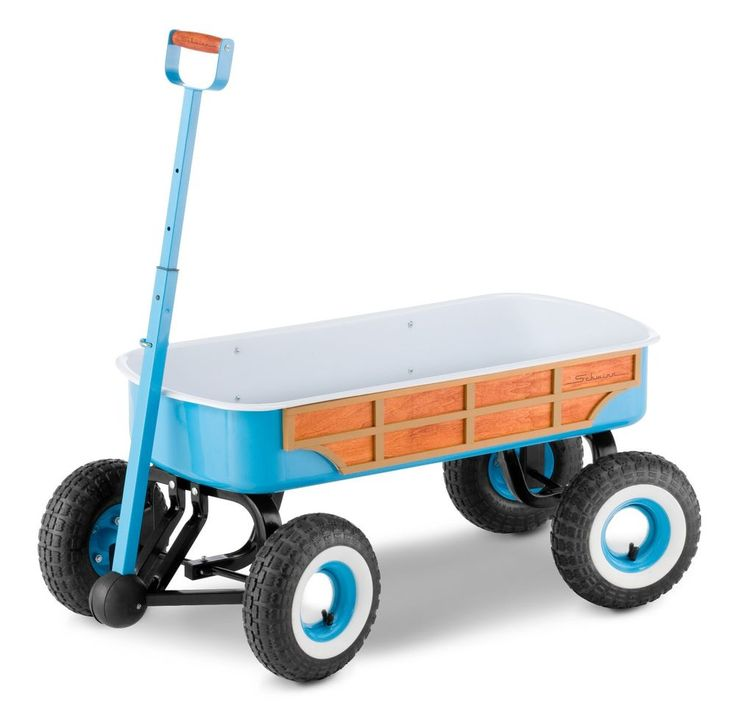 Schwinn Woody Wagon, Teal - Wood Side Panel #Schwinn