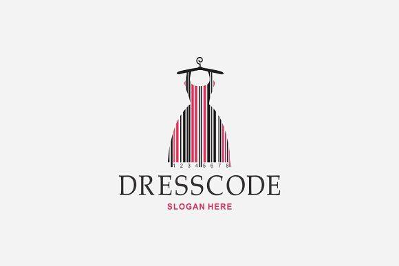 Dress Code Logo Clothing Logo Design Typography Logo Fashion Logo Design