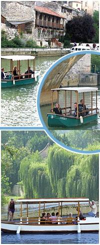 Croisiere touristique en gascogne : location bateau