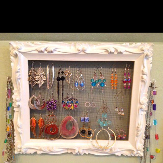 10 best do it yourself images on pinterest homemade jewelry craft homemade jewelry organizer is beautifully complete diy organizationhousehold tipshomemade jewelrydisplay ideasjewellery solutioingenieria Choice Image
