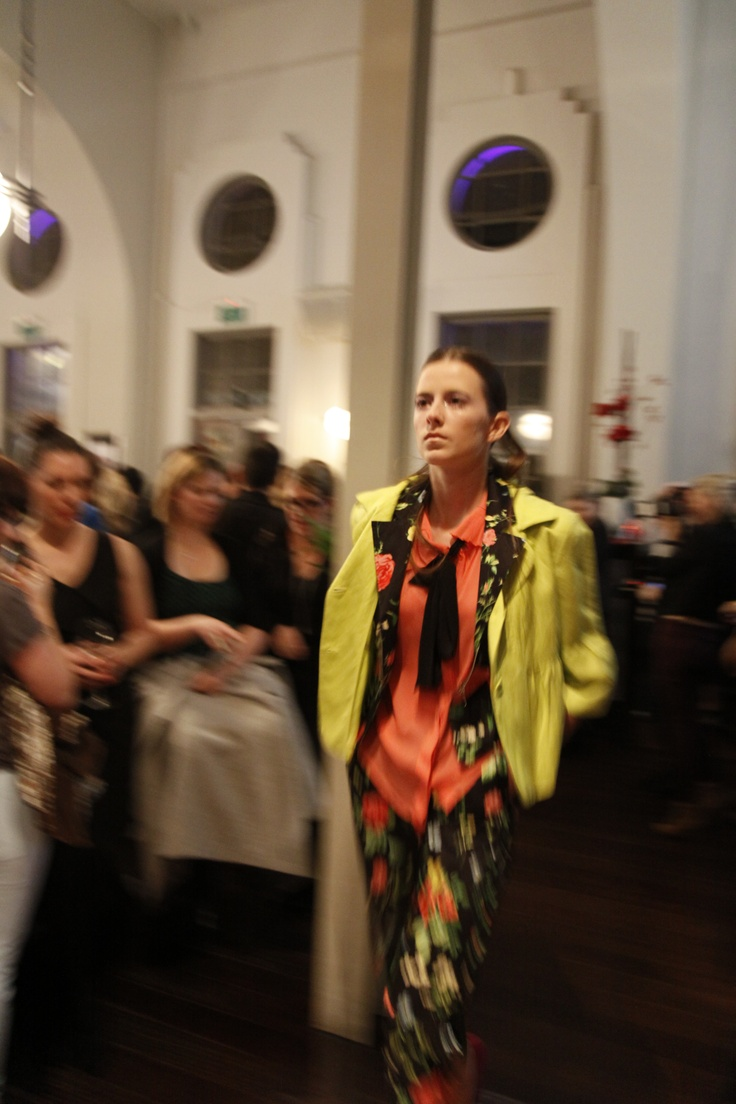 #modelling the new seasons look on the catwalk for BMW Fashion in the Capital.
