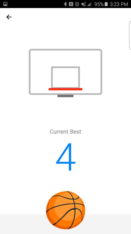 Looks like someone in the Facebook team has caught the March Madness fever; in a small update to the Messenger app, typing in the basketball emoji can enable a secret mini-game between you and a friend.