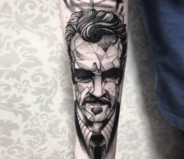 Portrait tattoo by Fredao Oliveira