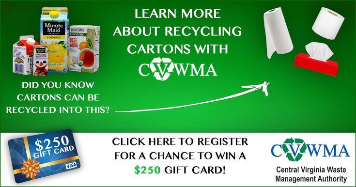 Help me win a $250 Visa gift card from CVWMA!