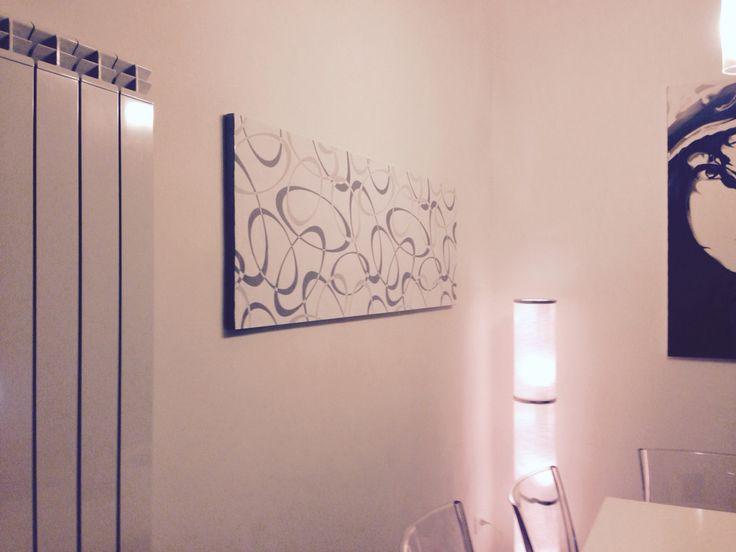 Living, wallpaper canvas