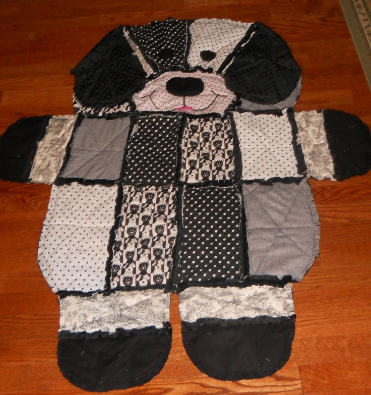 Puppy Dog Rag Quilt Pattern Is A Must Make Dog Quilts Toddler