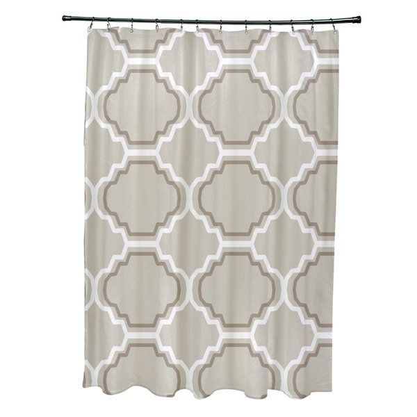 Road To Morocco Geometric Print Single Shower Curtain Bathroomrugsbathmatsplacement Curta Printed Shower Curtain Geometric Shower Curtain Colorful Curtains