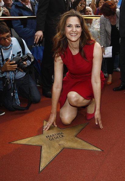 Martina Gedeck Actress Martina Gedeck attends a ceremony honoring her ...