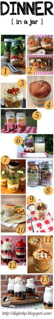 diy home sweet home: Dinner in a jar