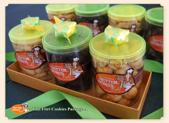 Idul Fitri Cookies Package A