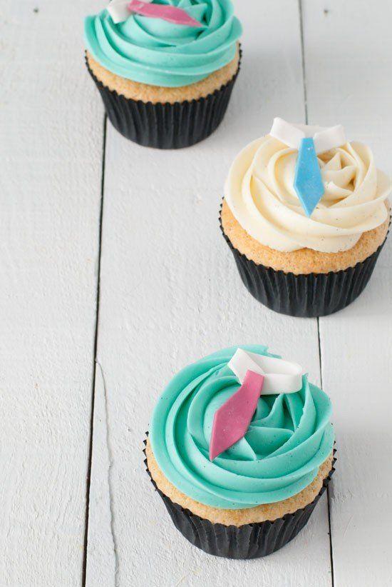 Cupcakes Día del Padre (y cómo conseguir el cupcake perfecto) - Megasilvita