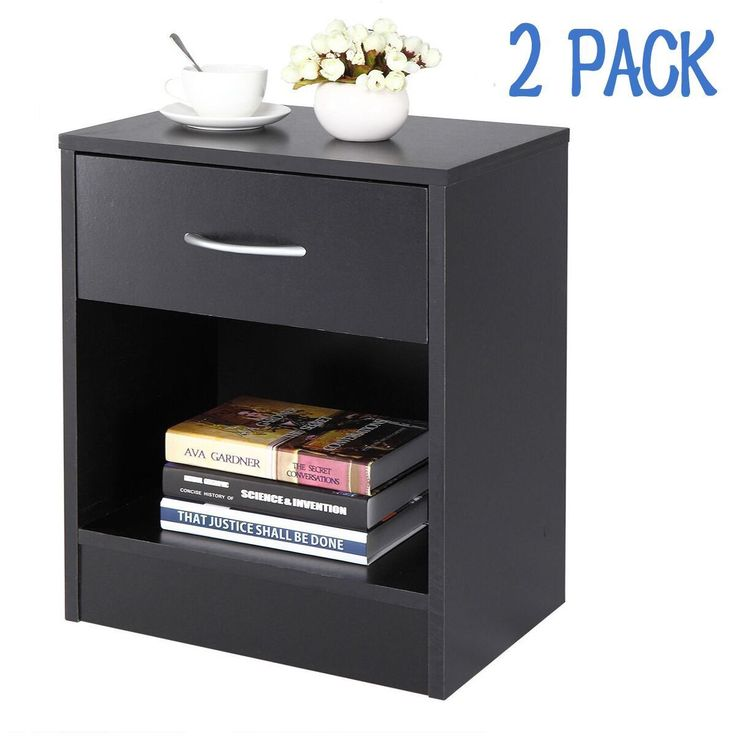 Item specifics     Condition:        New: A brand-new, unused, unopened, undamaged item in its original packaging (where packaging is    ... - #Furniture https://lastreviews.net/home/furniture/black-nightstand-set-of-2-black-end-table-bedroom-bedside-furniture-shelf-drawer/