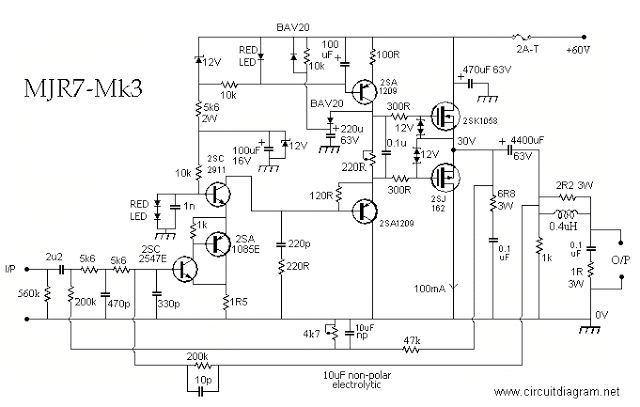 70w mosfet power amplifier in 2019