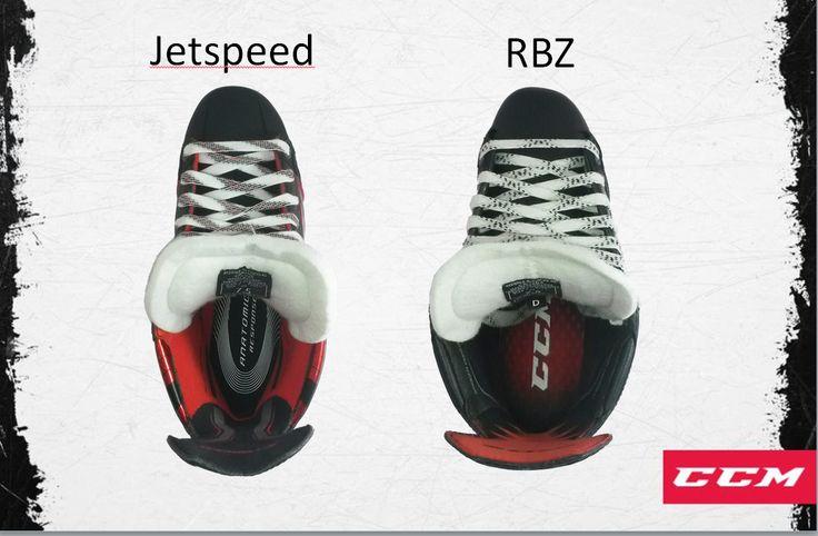 CCM 의 새로운 스케이트 RBZ를 대신 하여 나온 스케이트로 사진에서 보이것과 같이 발의 형태를 고려하여 만들어 박스에서 꺼냈을때 도 제일 좋은 핏을 느낄수 있습니다.   #jetspeed #ccm #skates #icehockey #아이스하키 #스케이트 #밀크하키 #milkhockey #FeedYourExcitement