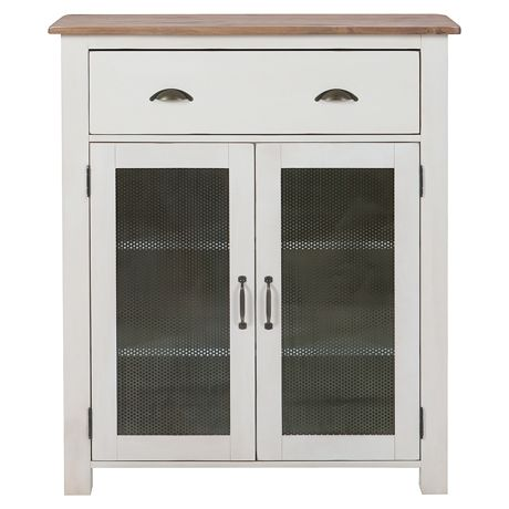 Providore 2 Door/1 Drawer Display Cabinet   Freedom Furniture and Homewares