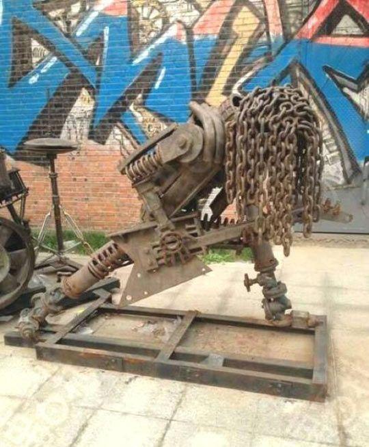 Hard Metal Sculpture