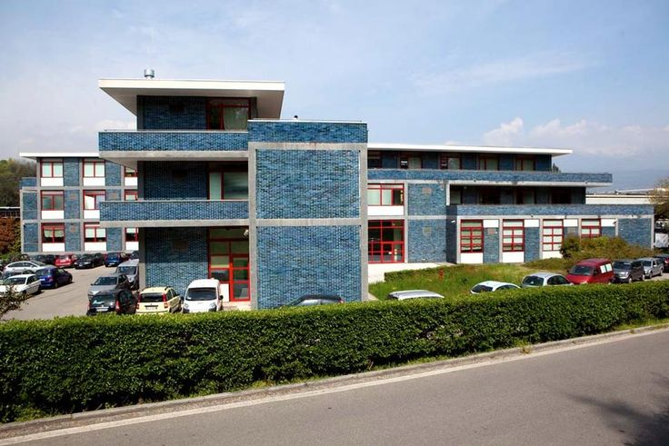 This is where I went to school for my masters degree in interaction design: Olivetti Study and Experience Centre, 1951/1955. Architect: Eduardo Vittoria. Courtesy of Francesco Mattuzzi and Fondazione Adriano Olivetti