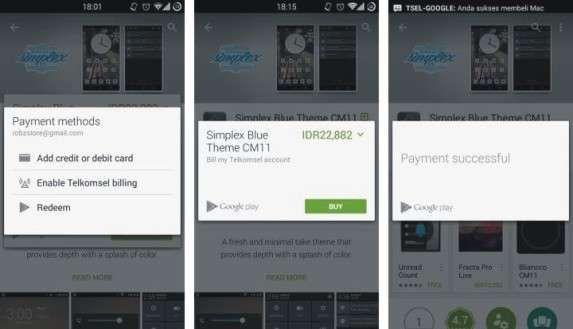 Cara Mudah Beli Aplikasi Dengan Telkomsel Billing