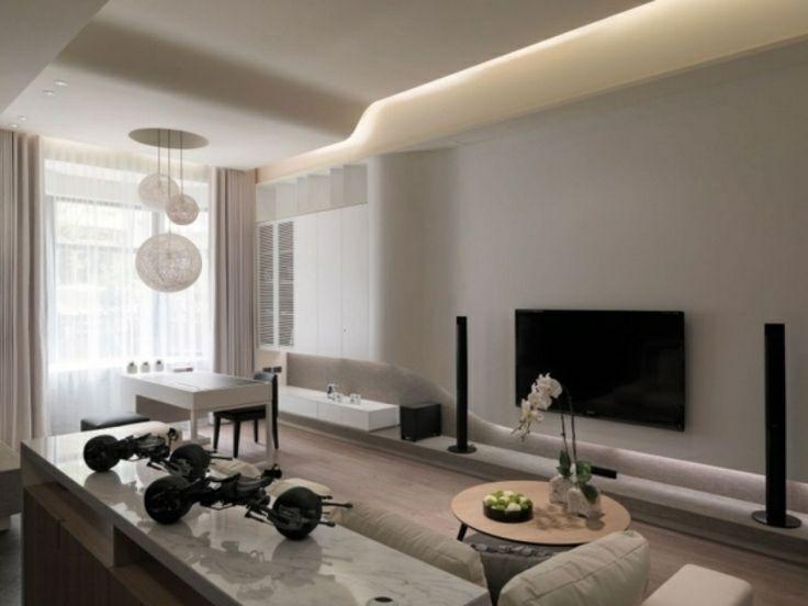 Immobilien Moderne Wohnzimmergestaltung Architektenhaus Modern