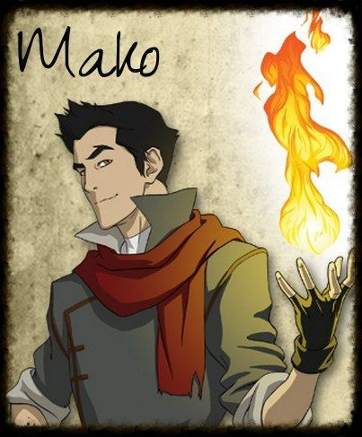 "I got Mako! YEASSSS!!!! Which Character From ""The Legend Of Korra"" Are You?"