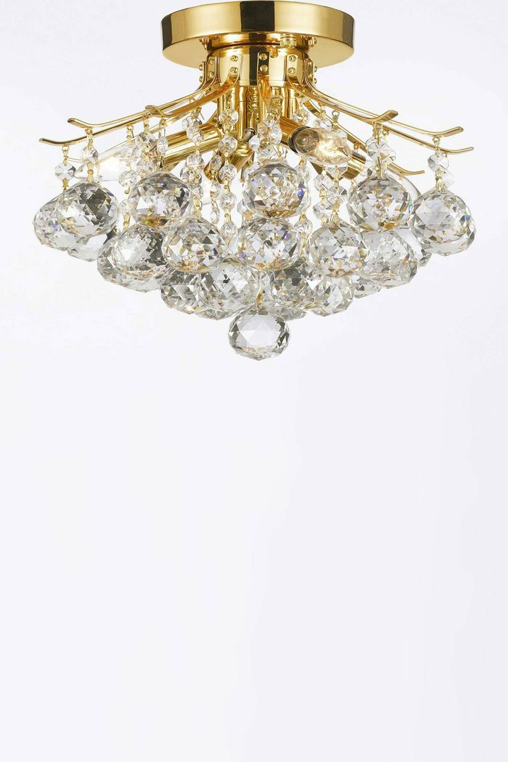 529 best lighting images on pinterest chandeliers pendant lamps empire gold crystal four light chandelier arubaitofo Gallery