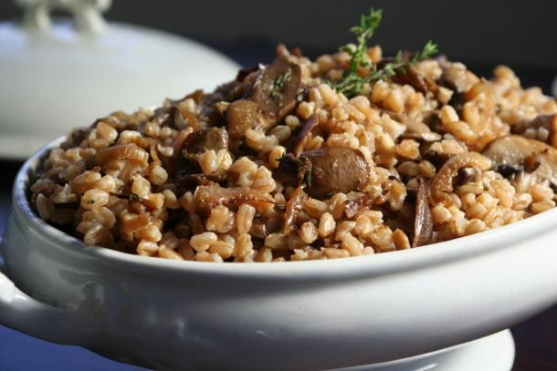Farro is the new Quinoa | OTL | Pinterest | Fennel, Mushrooms and ...