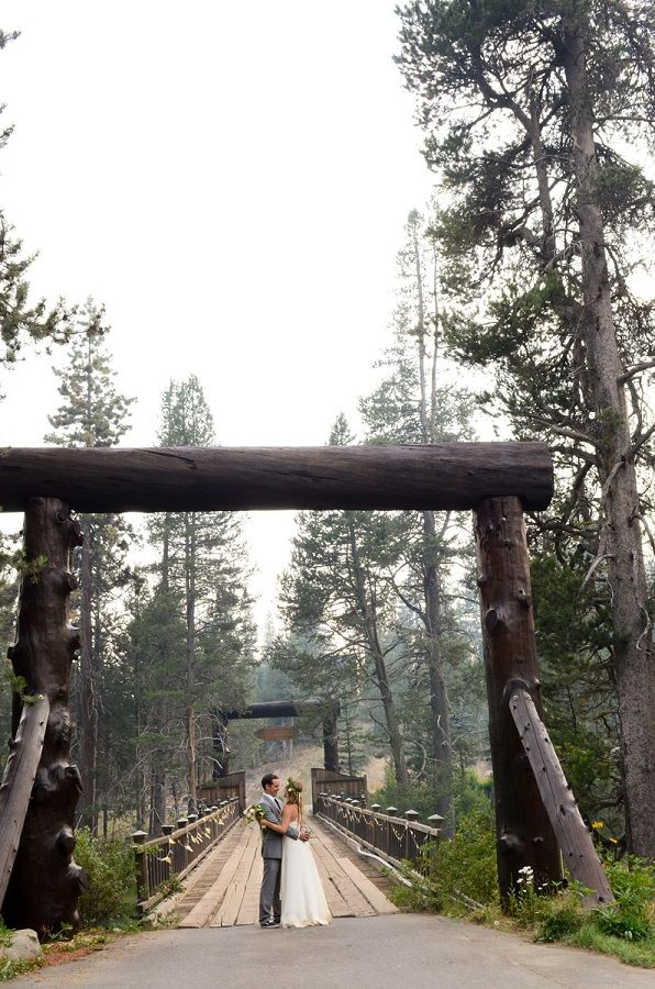 Painted Rock Lodge Lake Tahoe Wedding | Andrea Woodard Photography