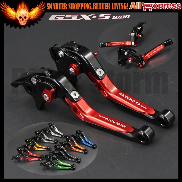 32.29$  Watch now  - CNC Folding Extendable Motorcycle Adjustable Brake Clutch Levers For Suzuki GSXS1000 GSX-S1000/F/ABS 2015-2016 15 16