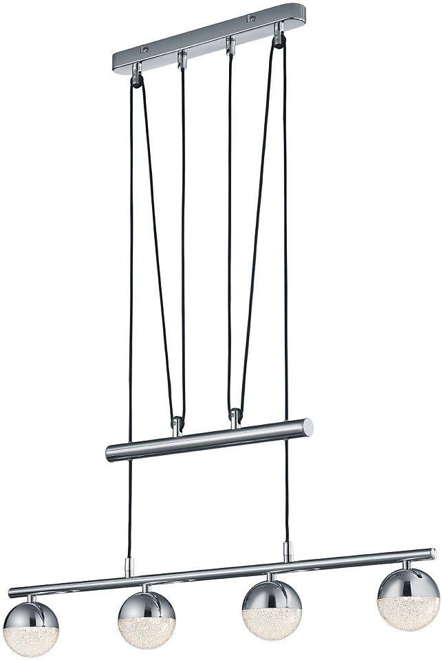 Trio Leuchten, LED Pendelleuchte, höhenverstellbar, »CHRIS« Jetzt bestellen unter: https://moebel.ladendirekt.de/lampen/deckenleuchten/pendelleuchten/?uid=f53c99eb-b30d-5cbe-8af7-2cb847cdb3ac&utm_source=pinterest&utm_medium=pin&utm_campaign=boards #deckenleuchten #pendelleuchten #lampen