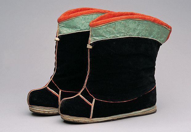 목화(木靴) | Mokwha(Mid-Calf Length Boots) Seok Juseon Memorial Museum, Dankook University