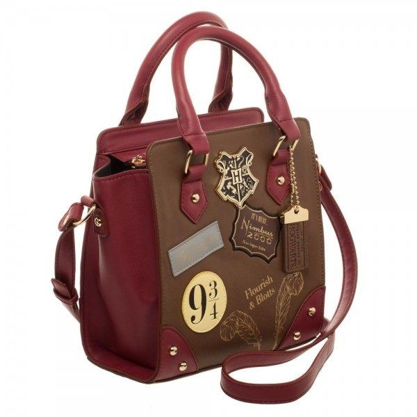 Harry Potter 9 Mini Brief Handbag Side