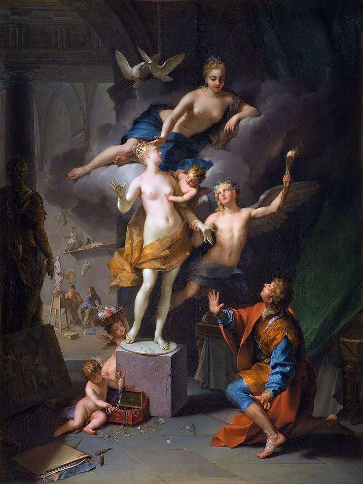 Pygmalion, Jean Raoux