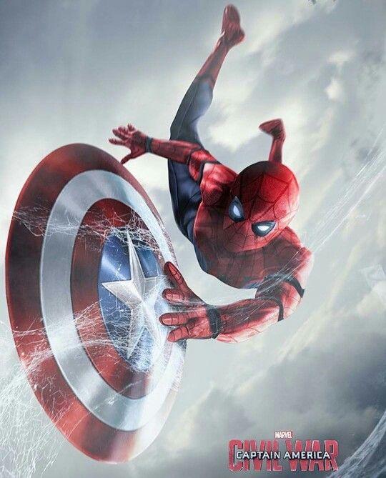 Spider-Man & Captain America Shield.
