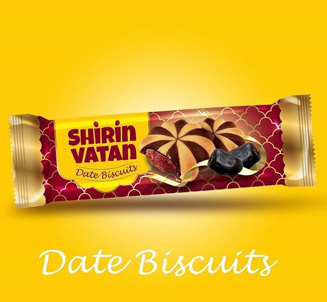 Title Packaging For Date Biscuit Client Shirin Vatan Food Ind