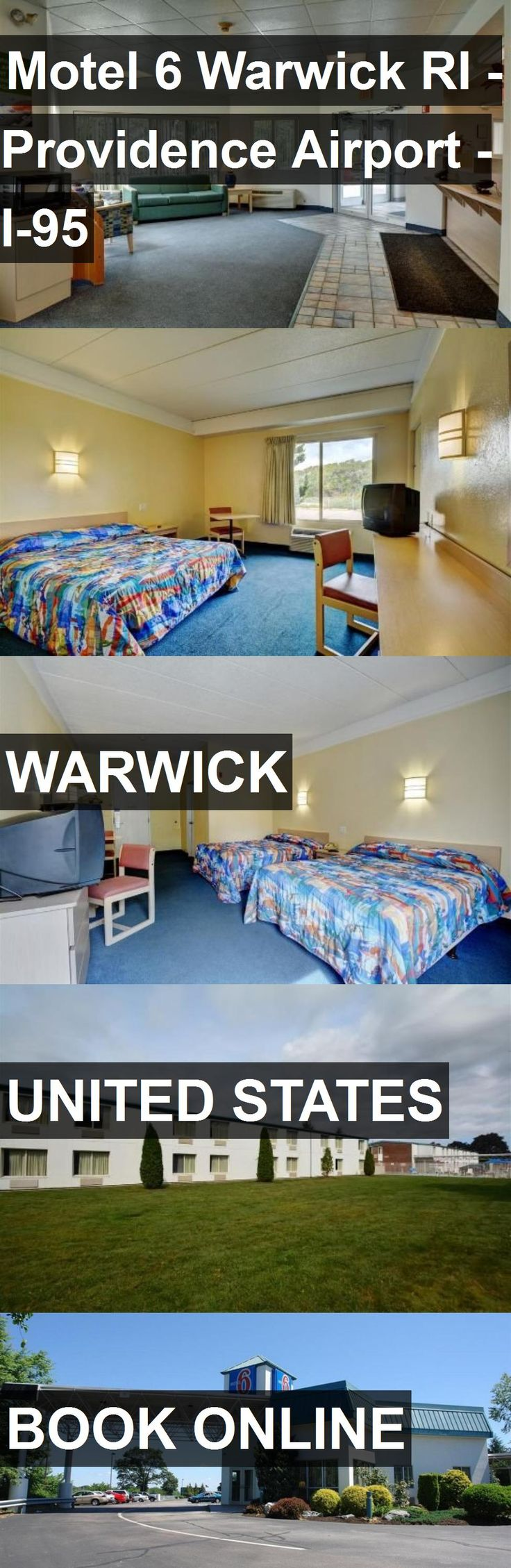 Hotel Motel 6 Warwick RI - Providence Airport - I-95 in Warwick, United States. For more information, photos, reviews and best prices please follow the link. #UnitedStates #Warwick #travel #vacation #hotel